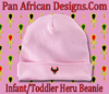 Infant Pink Heru Cap