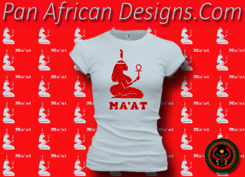 Women's Pale and Red Maat T-Shirts with Glitter