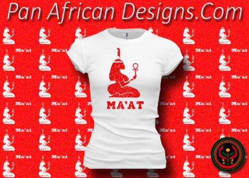 Women's White and Red Maat T-Shirts with Glitter