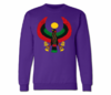 Men's Purple Heru Crewneck Sweatshirts