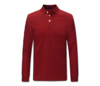 Men Maroon Heru Long Sleeve Collared Shirt