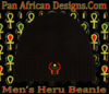 Men's Black Heru Beanie