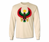 Men's Natural Heru Long Sleeve T-Shirts