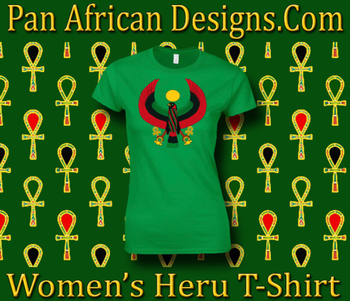 Women's Irish Green Heru Regular Fit T-Shirt