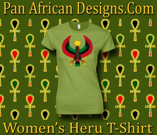 Women's Kiwi Green Heru Regular Fit T-Shirt