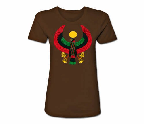 Women's Chocolate Heru Regular Fit T-Shirt