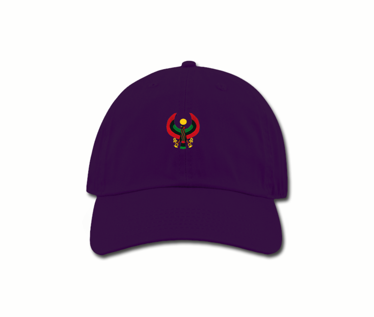 Women s Purple Mama (Dad) Hats - Pan African Designs 10d23aed8