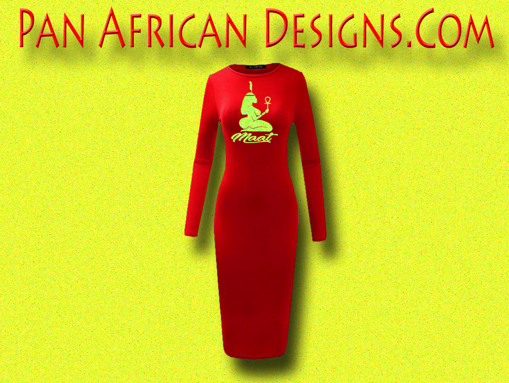 ed86ab38f4a Women s Red with Neon Yellow Glitter Long Sleeve Ma at Bodycon T-Shirt Dress