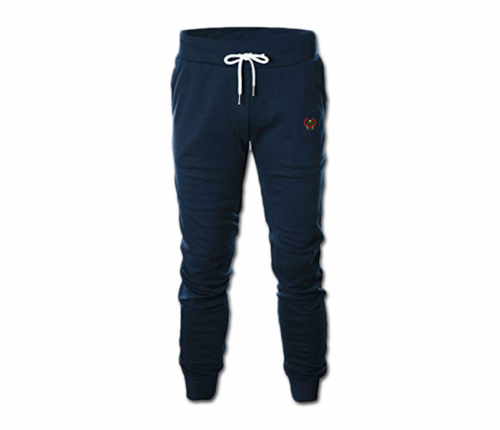 Men's Navy Blue Heru Slim Fit Lightweight Sweatpant with Tapper Bottom