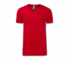 Men/Unisex Red Heru V-Neck T-Shirt