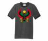 Men Deep Heather with Black Trim Heru T-Shirt