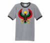 Men Heather Grey with Black Trim Heru T-Shirt