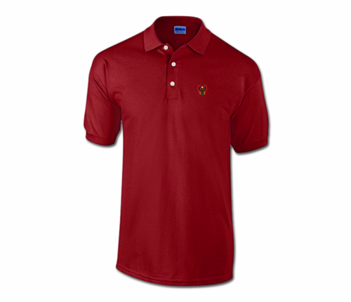 Men Maroon Heru Collared Shirt