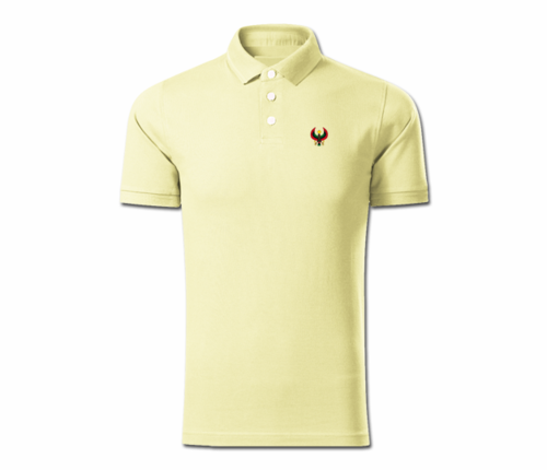Men Sunray Yellow Heru Collared Shirt