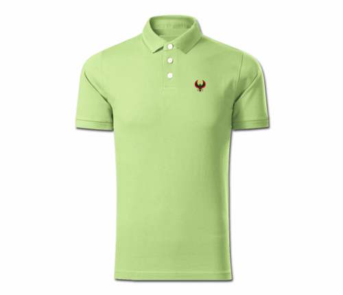Men Lime Heru Collared Shirt
