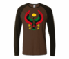 Men Brown with Brown Long Sleeve Heru T-Shirt