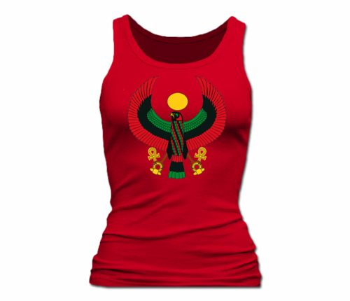Women Red Heru Tank Top