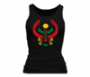 Women Black Heru Tank Top