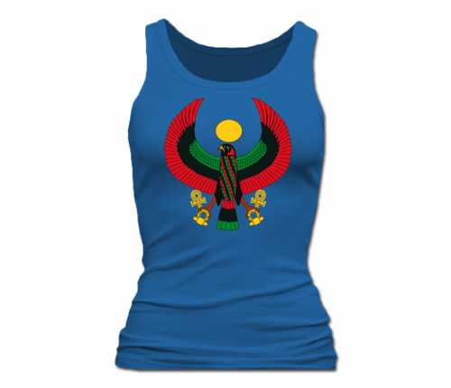 Women Royal Blue Heru Tank Top