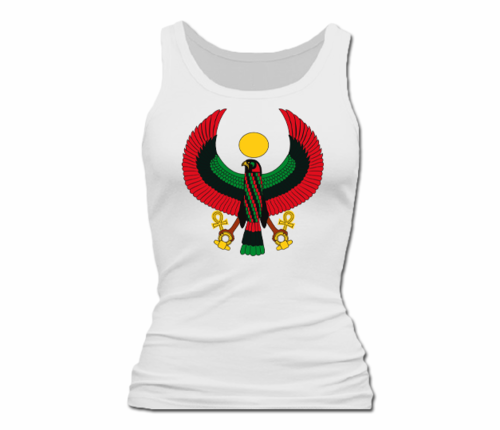 Women White Heru Tank Top