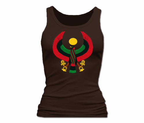 Women Chocolate Heru Tank Top