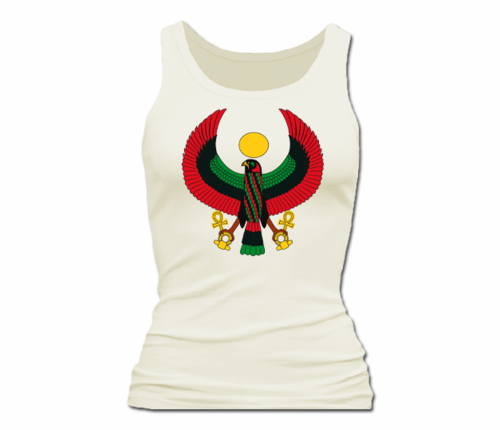 Women Cream Heru Tank Top