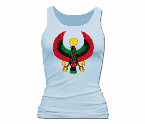 Women Pale Blue Heru Tank Top