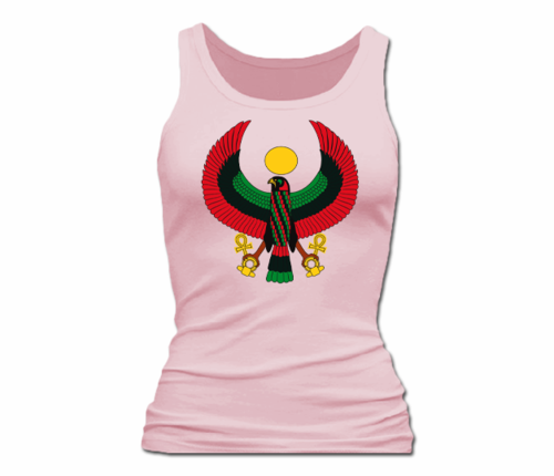 Women Pink Heru Tank Top