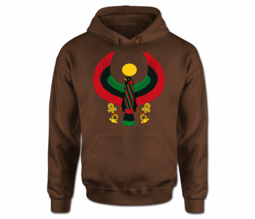 Women  Dark Chocolate Heru Hoodie