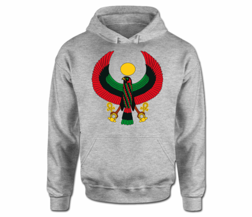 Women Sports Grey Heru Hoodie