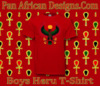 Boys Cherry Red Heru T-Shirt