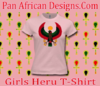 Girls Pink Heru T-Shirt