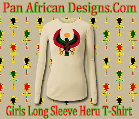 Girls Cream Long Sleeve Heru T-Shirt