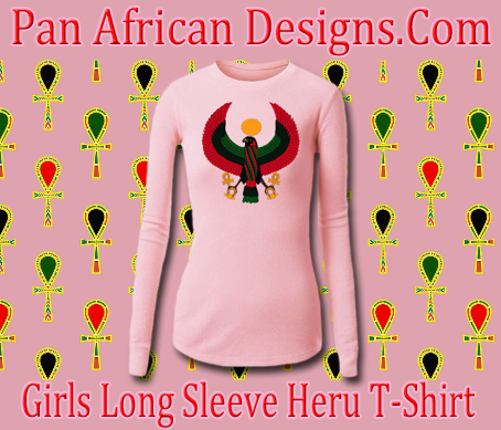 Girls Pink Long Sleeve Heru T-Shirt