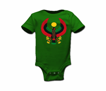 Toddler Large Print Heru Onesie