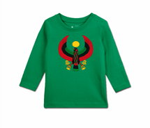 Toddler Heru Long Sleeve T-Shirt