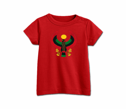 Infant Cherry Red Heru T-Shirt