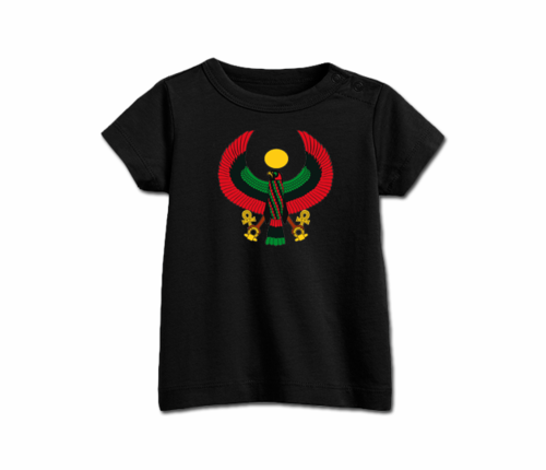 Infant Black Heru T-Shirt