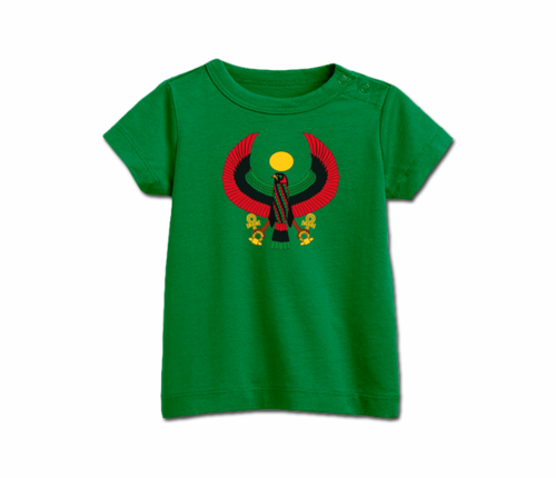 Infant Grass Green Heru T-Shirt