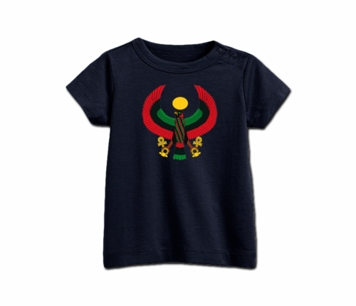 Infant Navy Blue Heru T-Shirt's
