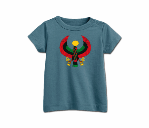 Infant Slate Blue Heru T-Shirt's