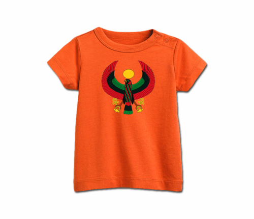 Infant Tangerine Heru T-Shirt