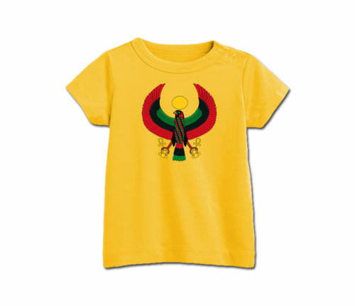 Infant Gold Heru T-Shirt