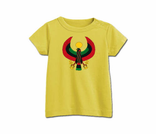 Infant Yellow Heru T-Shirt