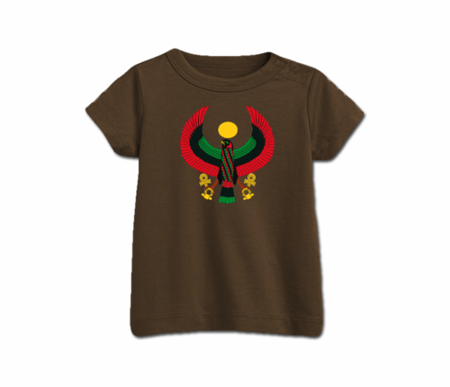 Infant Brown Heru T-Shirt