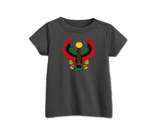 Infant Charcoal Grey Heru T-Shirt