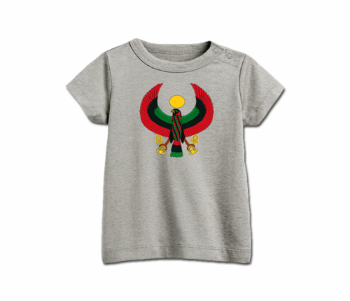 Infant Heather Grey Heru T-Shirt