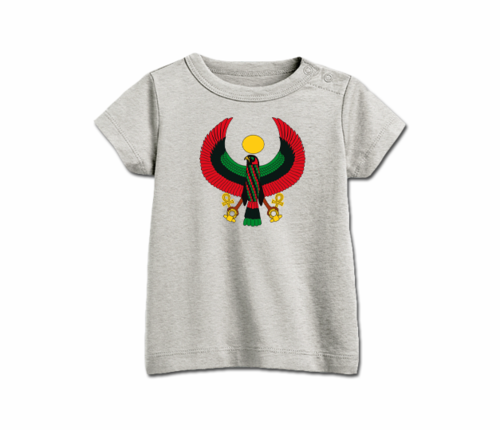 Infant Ash Grey Heru T-Shirt