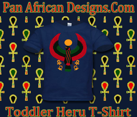 Toddler Navy Blue Heru T-Shirt