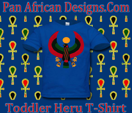 Toddler Royal Blue Heru T-Shirt